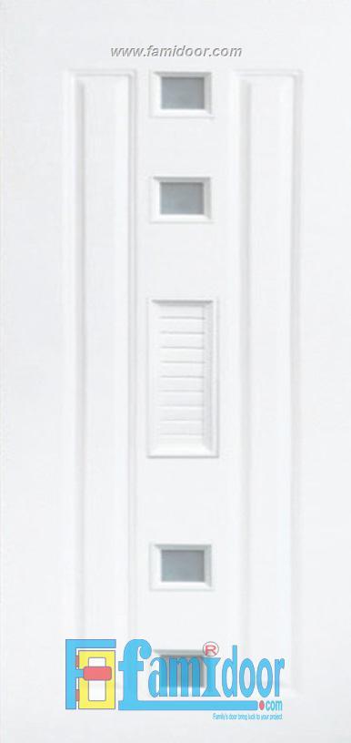Cửa nhựa Đài Loan 01-802AG ở Showroom Famidoor 0824.400.400