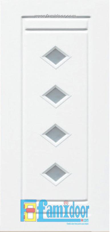 Cửa nhựa Đài Loan 01-804G ở Showroom Famidoor 0824.400.400