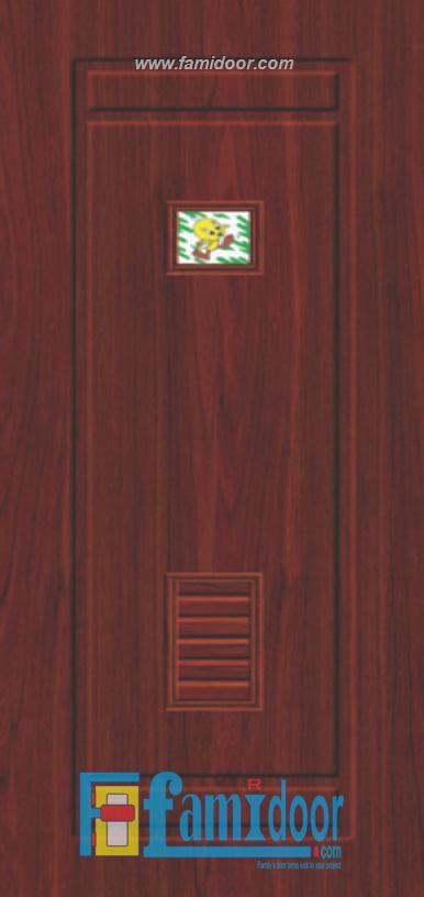 Cửa nhựa Đài Loan 04-804A1G ở Showroom Famidoor 0818.400.400