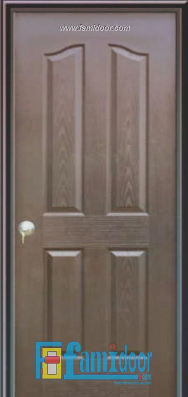 Cửa gỗ HDF MDF.4A-C14 ở Showroom Famidoor  0855.400.400