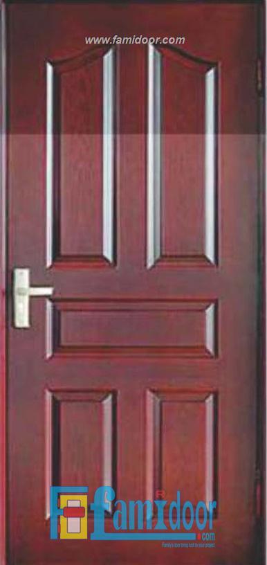 Cửa gỗ HDF MDF.5A-C12 ở Showroom Famidoor 0855.400.400