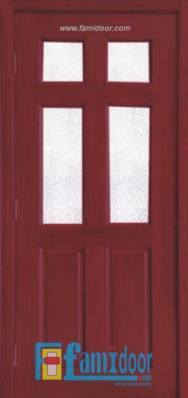 Cửa gỗ HDF MDF.6G4-C12 ở Showroom Famidoor 0824.400.400