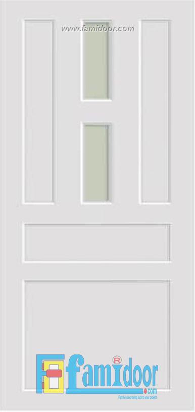 Cửa nhựa vân in fmd 03 tại Showroom famidoor 0824.400.400