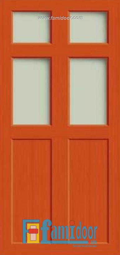 Cửa nhựa vân in fmd 04 tại Showroom Famidoor 0855.400.400