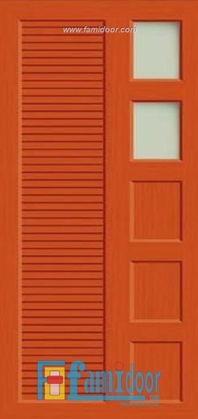 cửa nhựa vân in fmd 10 tại Showroom famidoor 0886.500.500