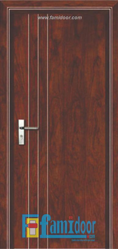 Cửa gỗ chống cháy GCC-P1R3 ở Showroom Famidoor 0824.400.400
