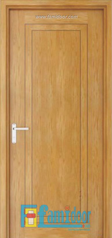 Cửa gỗ chống cháy GCC-P1R8 ở ShowroomFamidoor 0818.400.400