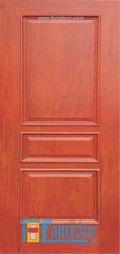 Cửa gỗ tự nhiên 03 tại Showroom Famidoor 0828.400.400