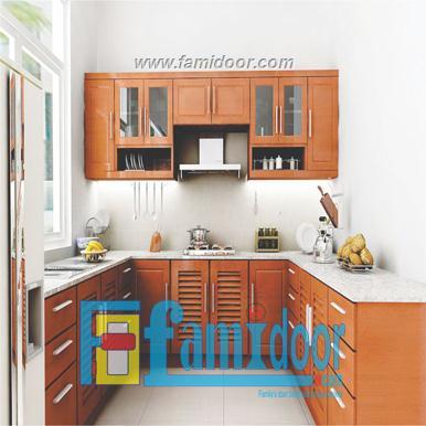 Tủ kệ bếp KP1 tại Showroom Famidoor 0886.500.500
