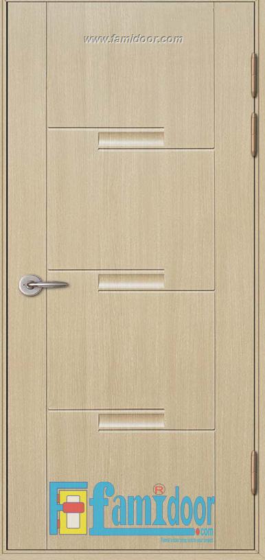 Cửa nhựa Composite KOS 111-MQ808 ở Showroom Famidoor 0824.400.400