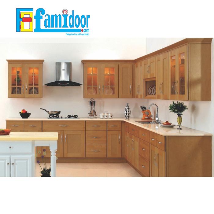 Tủ kệ bếp KP3 tại Showroom Famidoor cđược làm từ những chất liệu vô cùng cao cấp, đảm bảo về độ bền và khả năng chống chịu tốt nhất trước những tác động từ môi trường bên ngoài.