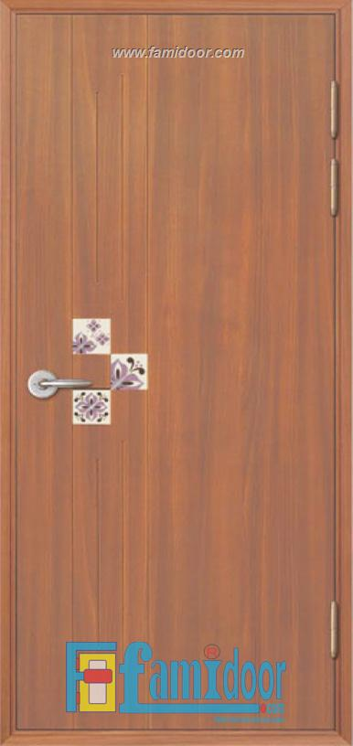 Cửa nhựa ABS Hàn Quốc KSD.303C-MT1048 ở Showroom Famidoor 0886.500.500