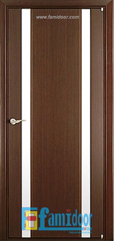 Cửa gỗ cao cấp fmd L-G2 ở Showroom Famidoor 0824.400.400