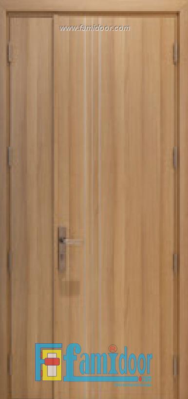 Cửa gỗ MDF LAMINATE L1D2 tại Showroom Famidoor 0828.400.400