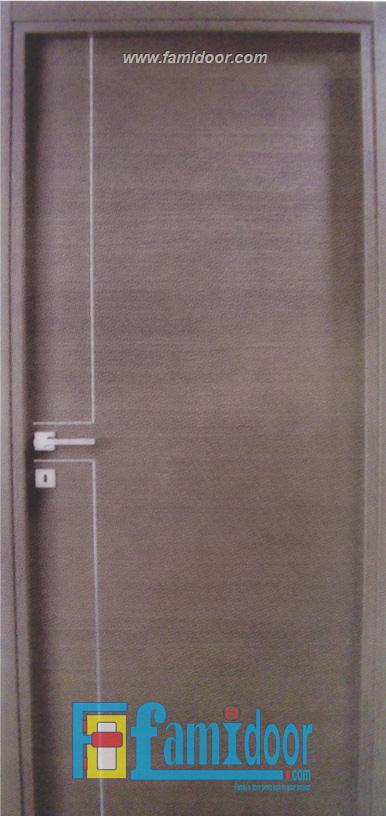 Cửa gỗ MDF LAMINATE M1R2A tại Showroom Famidoor 0855.400.400