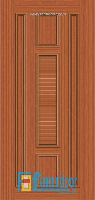 Cửa nhựa giả gỗ MB21 ở Showroom Famidoor 0886.500.500