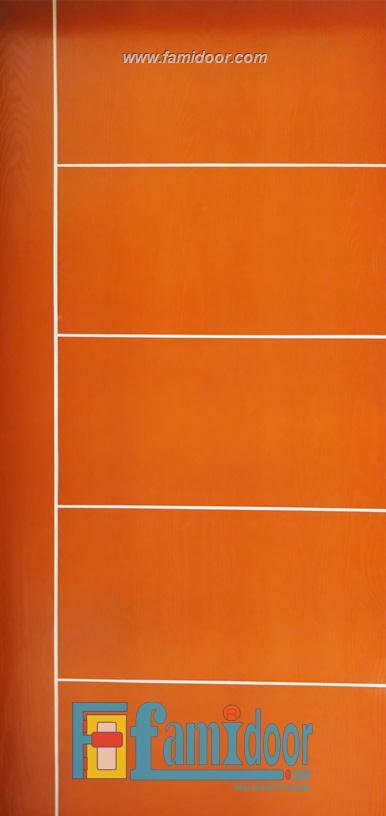 Cửa gỗ MDF LAMINATE P1R5 tại Showroom Famidoor 0818.400.400