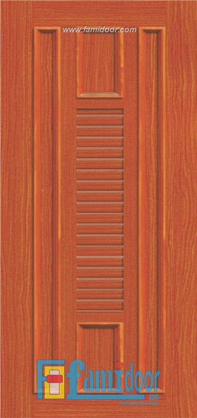 Cửa nhựa gỗ ghép thanh NG O21 Showroom Famidoor 0886.500.500