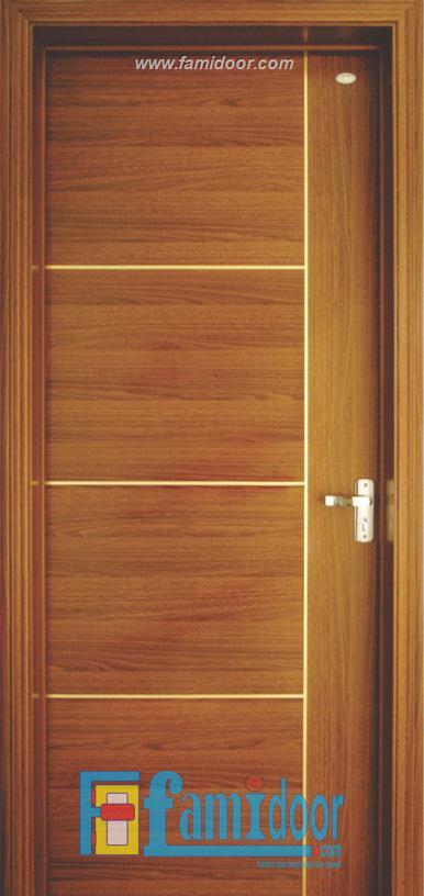 Cửa gỗ MDF VENEER P1R4B tại Showroom Famidoor 0818.400.400