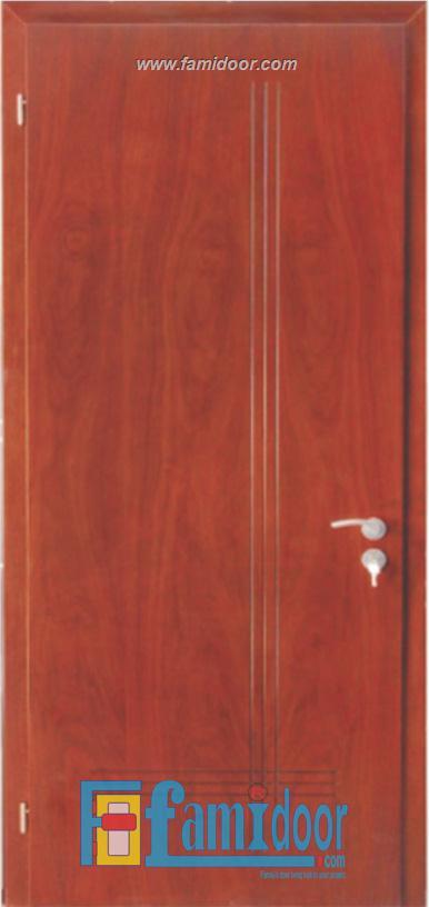Cửa gỗ MDF VENEER P1R6 tại Showroom Famidoor 0855.400.400