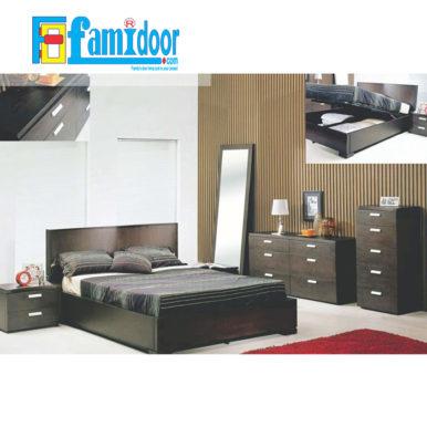 Nội thất phòng ngủ PN2 tại Showroom Famidoor cung cấp đặc trưng với độ bền cao, mẫu mã đa dạng, đồng thời có giá thành vô cùng hợp lí, phải chăng.
