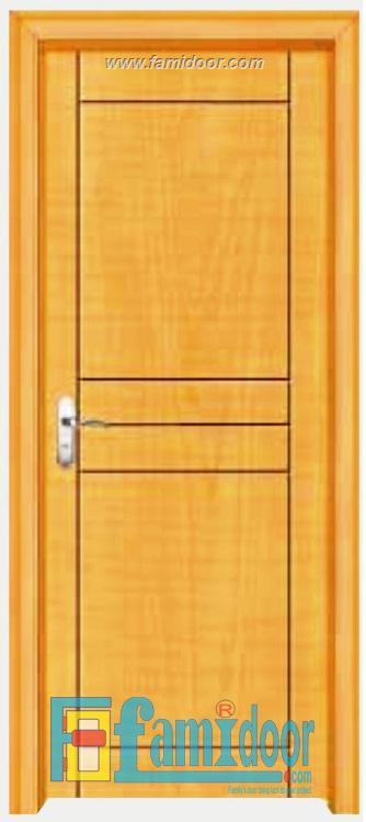 Cửa gỗ cao cấp PVC 1009 ở Showroom Famidoor 0818.400.400