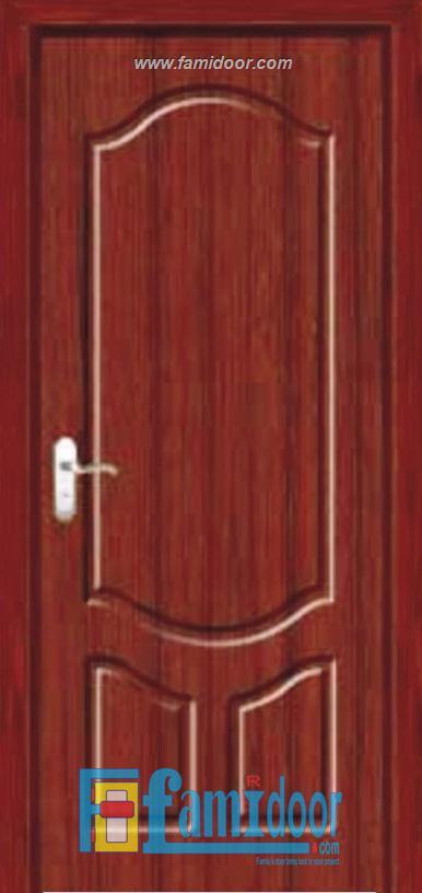 Cửa gỗ cao cấp PVC 1040 ở Showroom Famidoor 0855.400.400