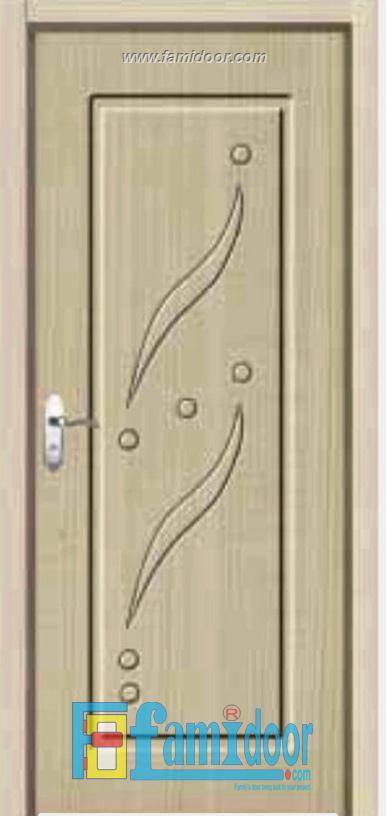 Cửa gỗ cao cấp PVC 1113 ở Showroom Famidoor 0886.500.500
