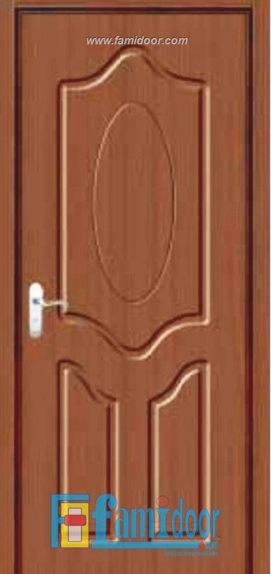 Cửa gỗ cao cấp PVC 1161 ở Showroom Famidoor 0828.400.400