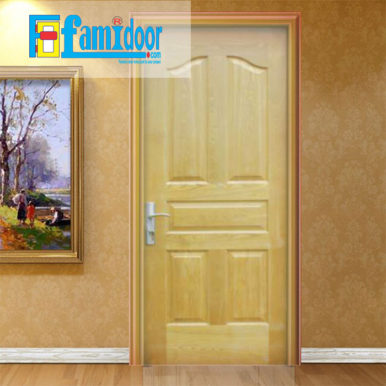 Cửa gỗ HDF VENEER 5A-ASH tại Showroom Famidoor là một trong những loại cửa gỗđược sử dụng khá phổ biến hiện nay.