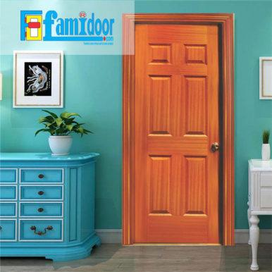 Cửa gỗ HDF VENEER 6A-SAPELEvới giá thành rẻ, kiểu dáng đa dạng, màu sắc phong phú chính là sự lựa chọn tốt nhất cho người tiêu dùng.