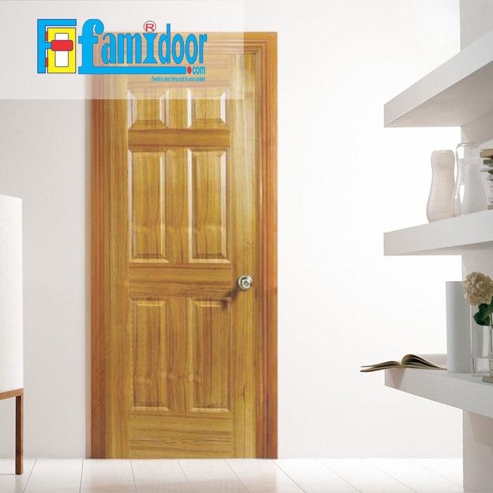 Cửa gỗ HDF VENEER 6A-TEAKvới giá thành rẻ, kiểu dáng đa dạng, màu sắc phong phú chính là sự lựa chọn tốt nhất cho người tiêu dùng.