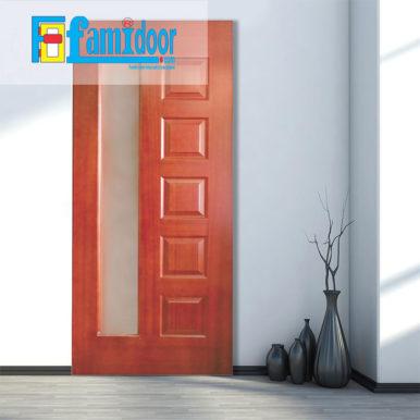 Cửa gỗ HDF VENEER 6GL-CĂM XE tại Showroom Famidoor là một trong những loại cửa gỗ được sử dụng khá phổ biến hiện nay.
