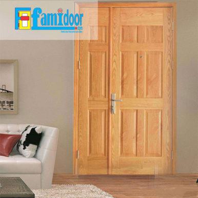 Cửa gỗ HDF VENEER 9A-ASH tại Showroom Famidoor là một trong những loại cửa gỗđược sử dụng khá phổ biến hiện nay.