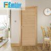 Cửa gỗ MDF MELAMINE M1N1 tại Showroom Famidoor có tính năng ưu việt là dễ định hình hoa văn cho mọi sản phẩm phức tạp.