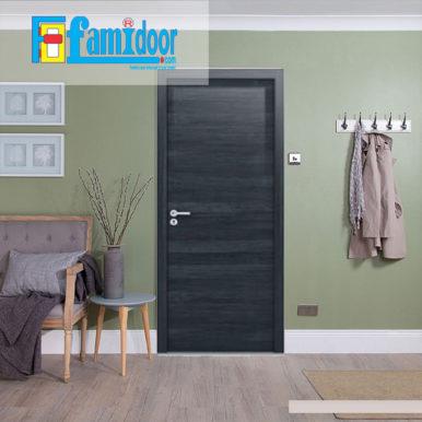 Cửa gỗ MDF MELAMINE M2N tại Showroom Famidoor có tính năng ưu việt là dễ định hình hoa văn cho mọi sản phẩm phức tạp.
