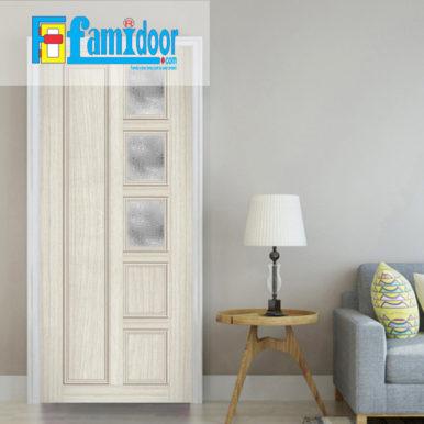 Cửa nhựa gỗ ghép thanh NG G30 ở Showroom Famidoor có độ bền rất cao và nhiều tính năng ưu việt đáp ứng yêu cầu kỹ thuật cũng như thời tiết tại Việt Nam.