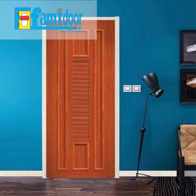Cửa nhựa gỗ ghép thanh NG O21 ở Showroom Famidoor có độ bền rất cao và nhiều tính năng ưu việt đáp ứng yêu cầu kỹ thuật cũng như thời tiết tại Việt Nam.