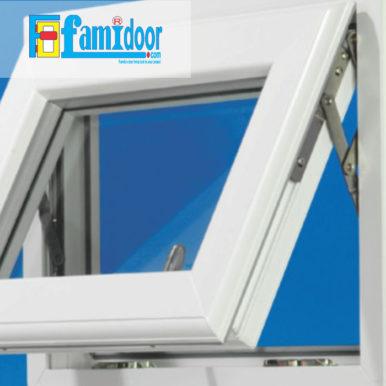 Cửa nhựa lõi thép FMD-UW07 ở Showroom Famidoor được sản xuất trên dây chuyền thiết bị hiện đại, công nghệ tiên tiến theo tiêu chuẩn Châu Âu
