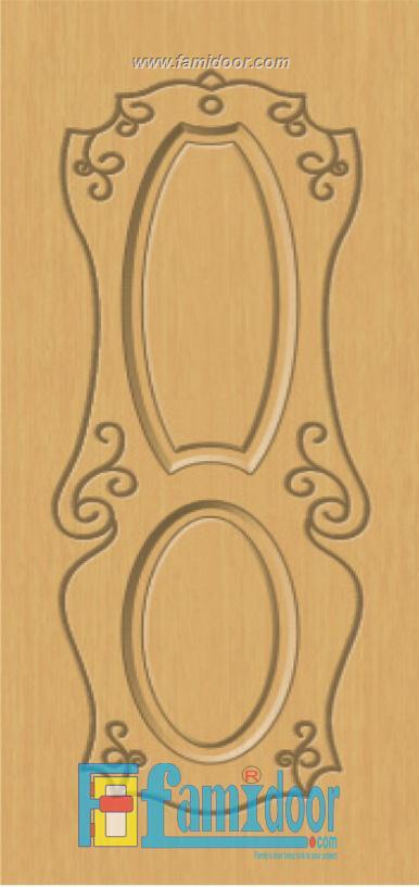 Cửa nhựa gỗ SUNGYU SYA 247 ở Showroom Famidoor 0828.400.400