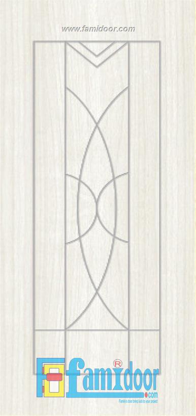 Cửa nhựa gỗ SUNGYU SYB 116 ở Showroom Famidoor 0828.400.400