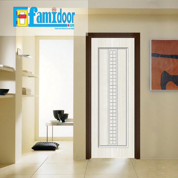 Cửa nhựa gỗ SUNGYU SYB 142 ở Showroom Famidoor được làm từ hạt nhựa và bột gỗ để tạo nên cửa nhựa gỗ giống như gỗ thật và có khả năng chịu được nước.