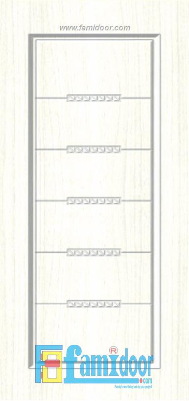 Cửa nhựa gỗ SUNGYU SYB 158 ở Showroom Famidoor 0855.400.400