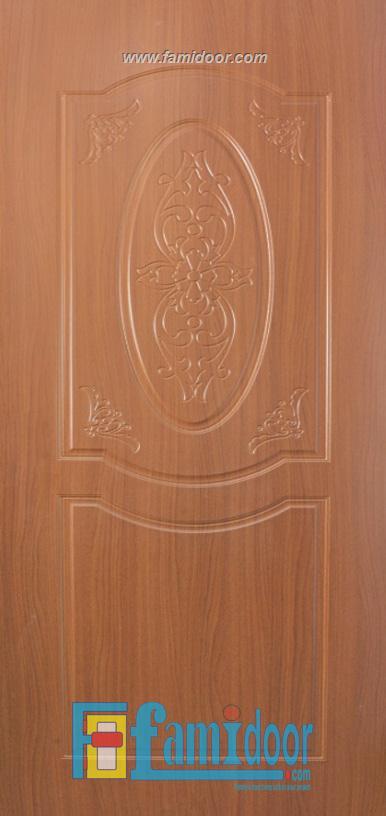 Cửa nhựa gỗ SUNGYU SYB 243 ở Showroom Famidoor 0818.400.400