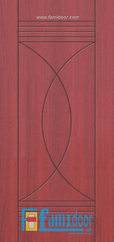 Cửa nhựa gỗ SUNGYU SYB 412 ở Showroom Famidoor 0824.400.400