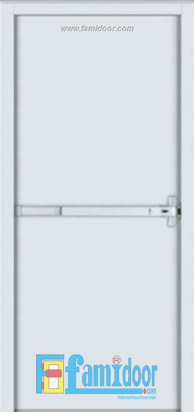 Cửa thép chống cháy TCC-P1 ở Showroom Famidoor 0855.400.400