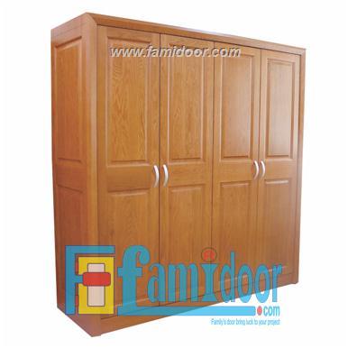 Tủ gỗ TU01 tại Showroom Famidoor 0818.400.400