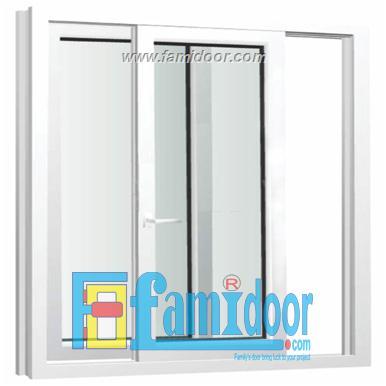 Cửa nhựa lõi thép FMD-UW05 ở Showroom Famidoor 0886.500.500