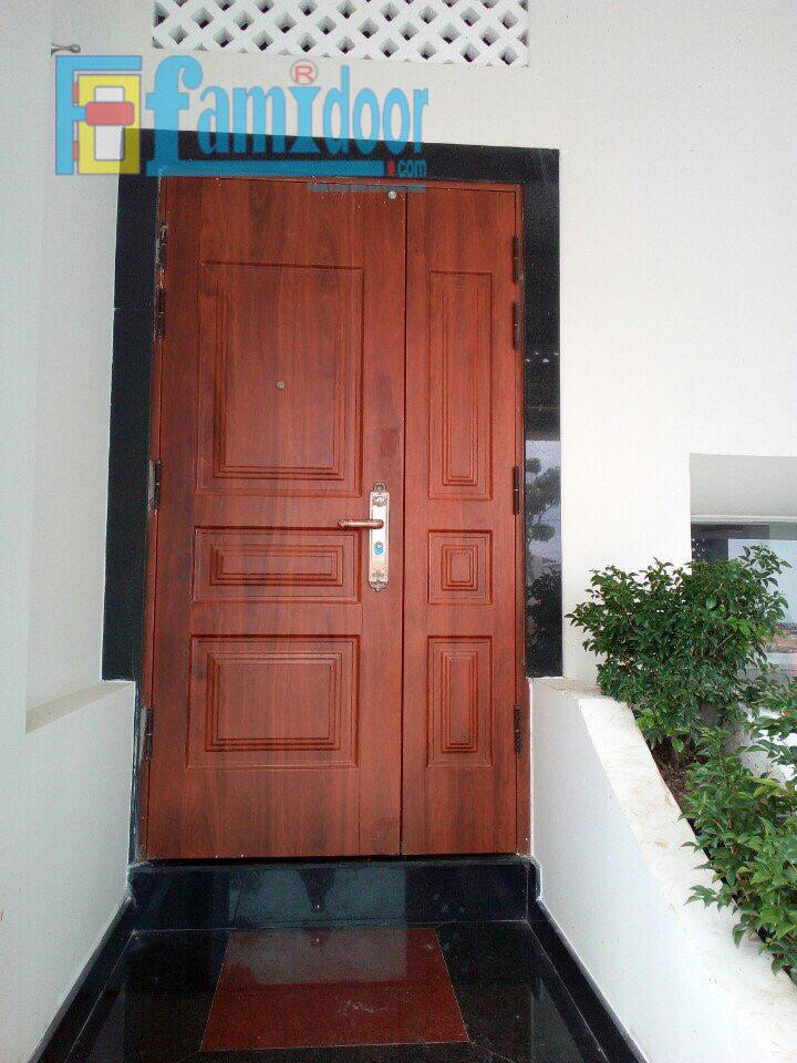 Cửa thép vân gỗ SGD7