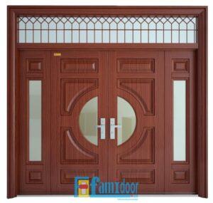 thiết kế cửa thép chống cháy cao cấp